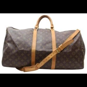 Louis Vuitton Weekend/Travel Bag Unisex